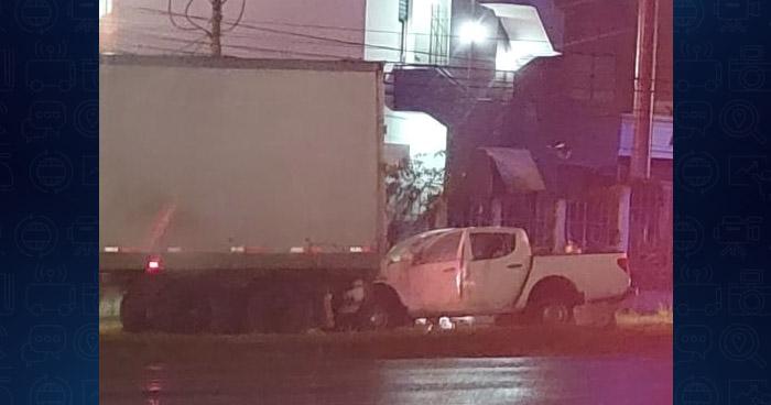 Un lesionado tras choque en Bulevar Los Próceres, en San Salvador