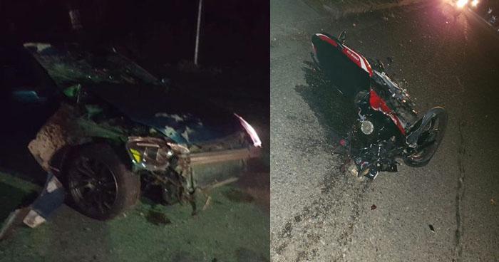 Conductor embiste y mata a una joven a bordo de una motocicleta en carretera Troncal del Norte