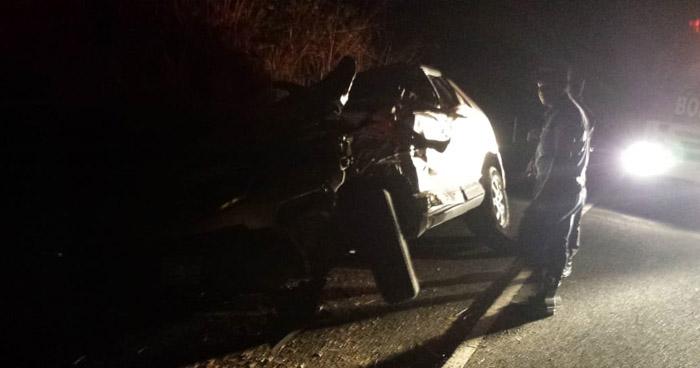 Tres fallecidos y dos lesionados tras fuerte choque en Metapán