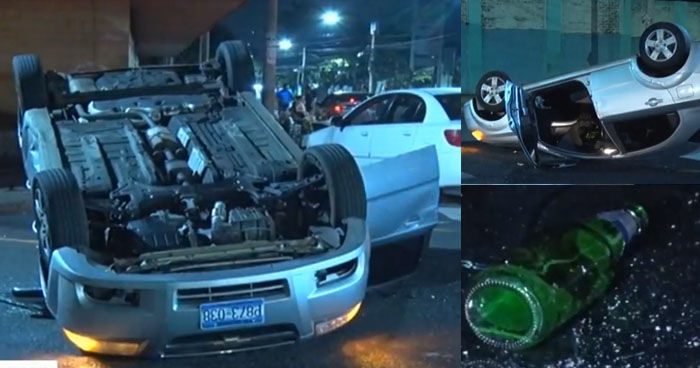 Mujer con 695 grados de alcohol provocó choque por el mercado San Miguelito