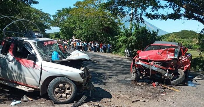 Un fallecido y un herido grave tras aparatoso choque en San Miguel