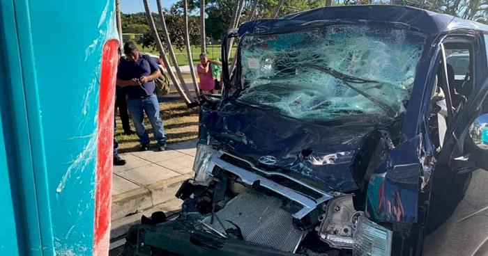 Tres lesionados en accidentes de tránsito registrados en diferentes puntos de La Libertad