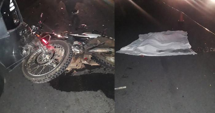 Motociclista pierde la vida tras accidente en carretera Litoral, en La Libertad