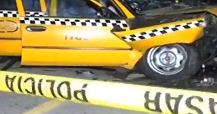 Taxista choca sobre la carretera de Oro y deja a una mujer fallecida