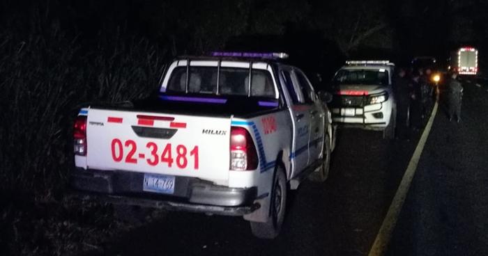 Dos hombres murieron anoche en un accidente de tránsito en Tecoluca, San Vicente