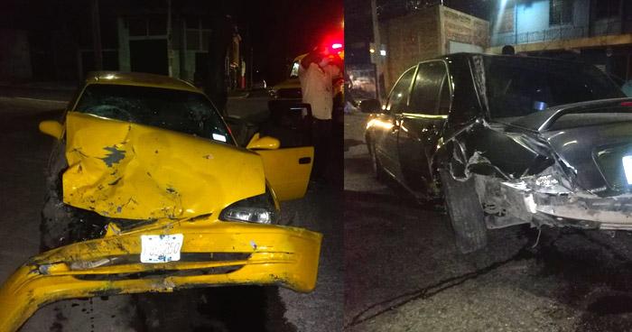 Dos lesionados tras accidentes registrados anoche en diferentes puntos de San Salvador