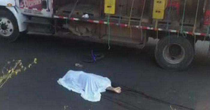Padre e hijo mueren en accidente de tránsito en carretera de Sonsonate