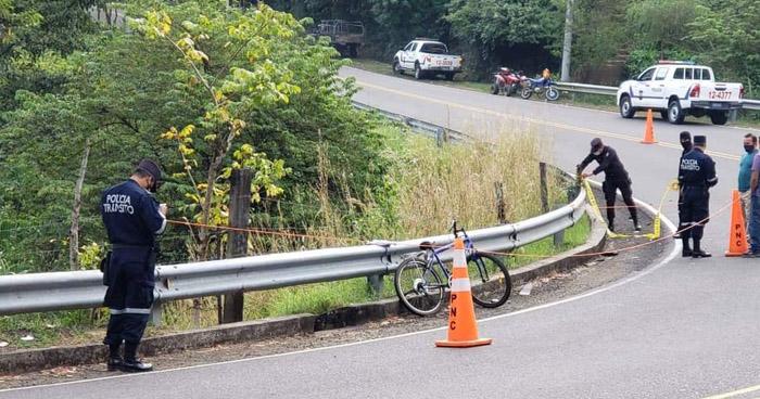 Albañil muere en accidente de tránsito cuando se dirigía hacia su trabajo