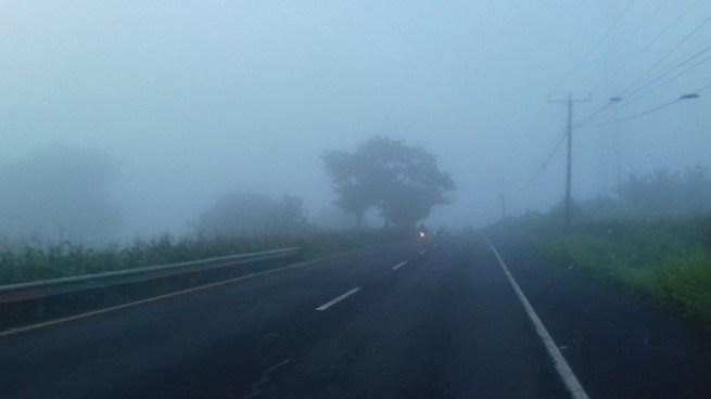 Presencia de lluvias en la zona centro y el oriente del país por desplazamiento de Onda Tropical