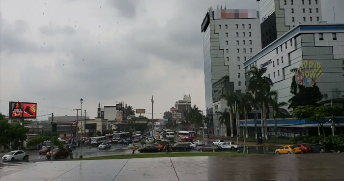 Continuará ambiente nublado y probabilidad de lluvias, con énfasis en la cordillera volcánica y franja costera del país