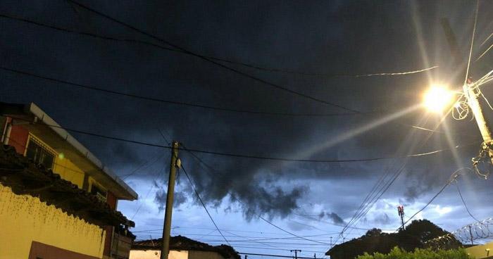 Probabilidad de lluvias y tormentas eléctricas aisladas con énfasis en la zona norte y el occidente del país