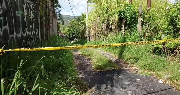 Encuentran cadáver calcinado en carretera a los Planes de Renderos