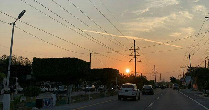 Circulación antociclónica favorecerá Vientos Norestes débiles en franja central y norte del país
