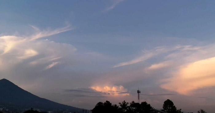Se esperan lluvias aisladas con énfasis en la franja norte y zona occidental del país