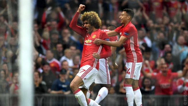 Manchester United cumple y está en la final de la Europa League