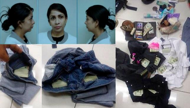 Arrestan en el aeropuerto de El Salvador a colombiana acusada de lavar dinero