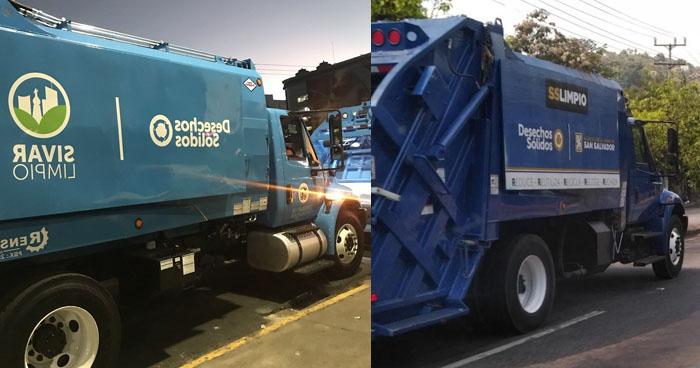 Muyshondt gastó $45 mil de alcaldía para cambiar el color de los camiones que dejó Nayib Bukele