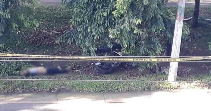 Dos fallecidos en accidente de tránsito registrado sobre carretera Comalapa