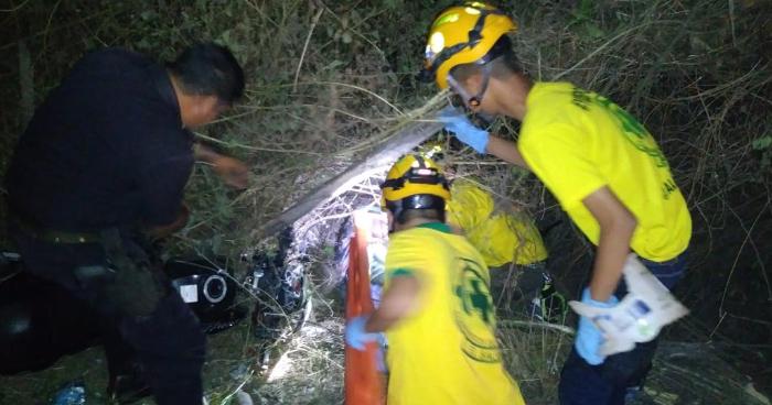 Motociclista fallecido tras aparatoso accidente en la carretera Troncal del Norte en Apopa