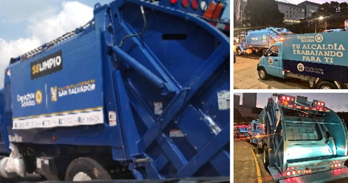 Concejal de la alcaldía de San Salvador exige auditoria sobre $45 mil utilizados para pintar camiones