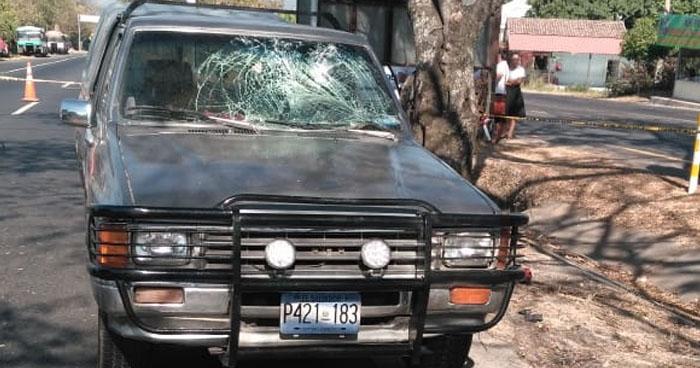 Conductor se distrajo y mató a un anciano luego de arrollarlo en San Vicente