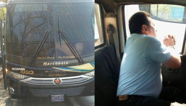 Capturan ebrio a motorista de la Ruta 306 con 176 grados de alcohol