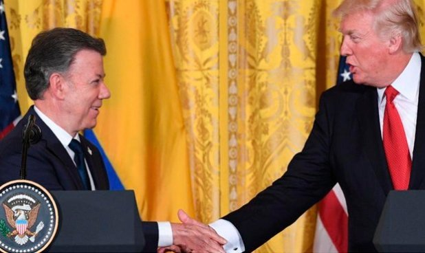 """Trump: """"Estados Unidos cooperará con los países de la región para buscar una salida a la crisis en Venezuela"""""""