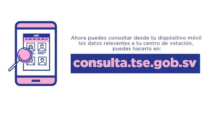 Consulta centro de votación, JRV y correlativo para elecciones 2021