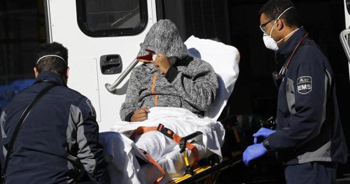 Estados Unidos supera el millón de casos confirmados de COVID-19