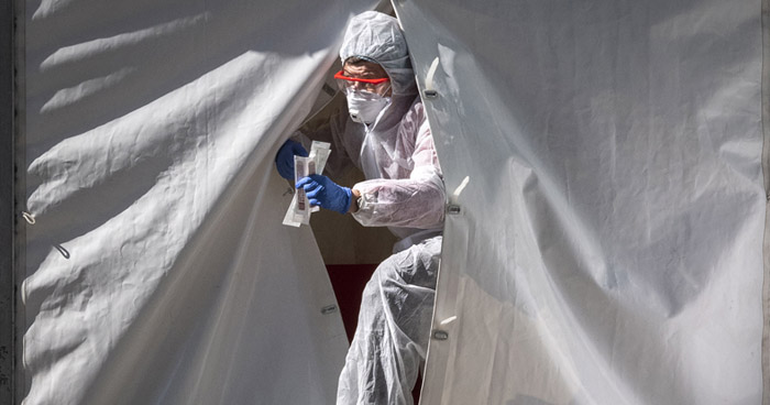 Rusia detecta más de 10.000 nuevos contagios en las últimas horas