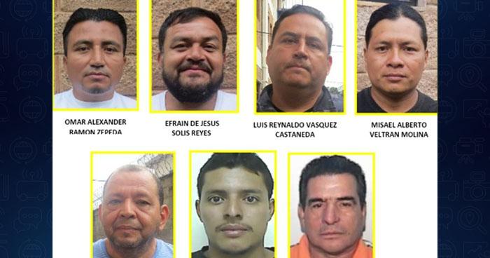 Capturan a siete contrabandistas de mercadería en San Salvador y La Libertad