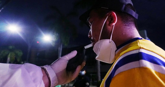 Multan a conductor ebrio durante control antidoping en San Salvador