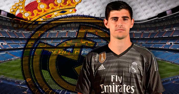 Oficial: Courtois ya es jugador del Real Madrid