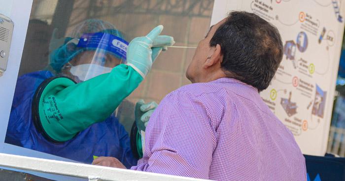 Realizan pruebas para detectar COVID-19 en Jayaque, La Libertad
