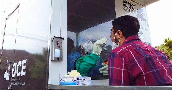 570 nuevos casos confirmados de COVID-19 detectados en los últimos 3 días en El Salvador