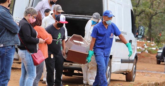 Brasil registra récord de muertes a causa de COVID-19 en las últimas 24 horas