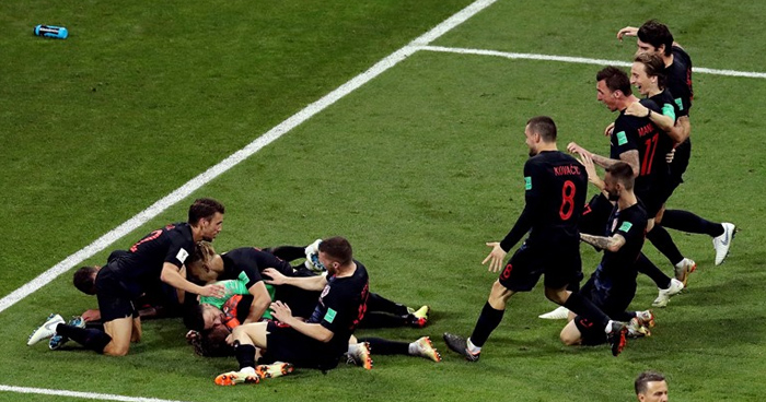 En penales, los rusos quedan eliminados de su mundial, Croacia a semifinales