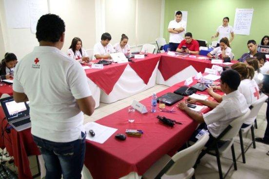 Cruz roja salvadoreña desarrolla curso sobre la vigilancia epidemiológica