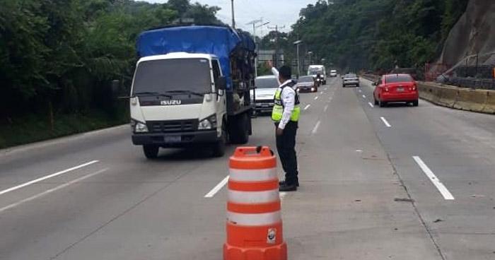 VMT anuncia cambio de circulación en carretera Los Chorros