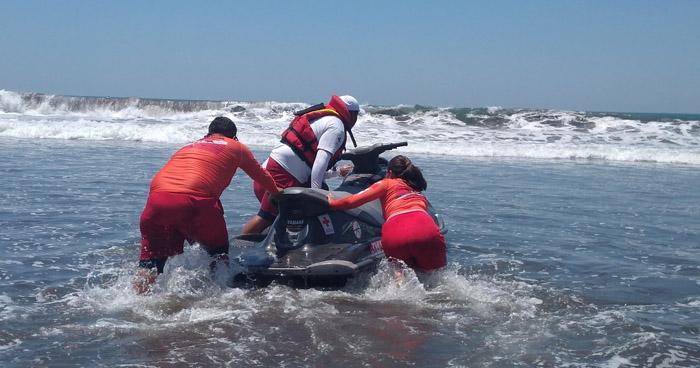 Hallan cuerpo de joven desaparecido el lunes en Playa Amatecampo