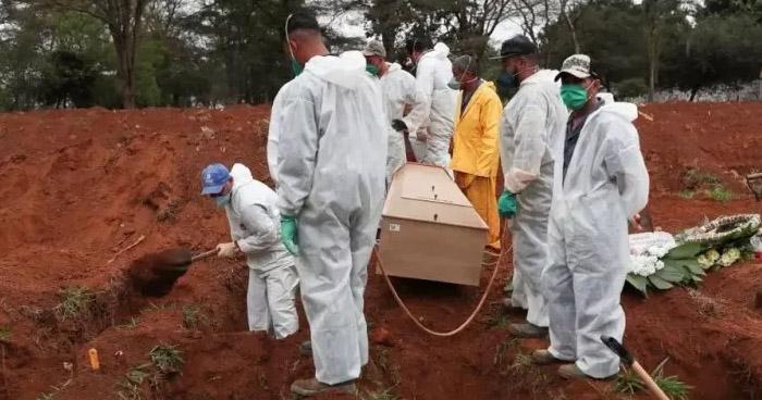 Brasil supera los 600,000 fallecidos por COVID-19
