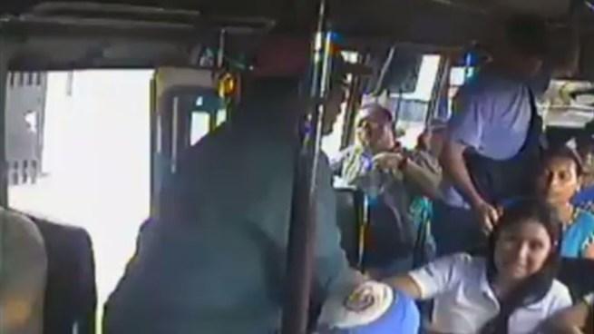 Detención para 2 sujetos que robaron a punta de cuchillo a pasajeros en la ruta 30-B