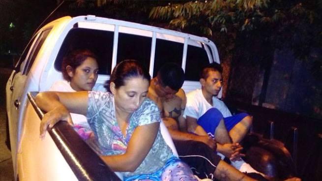 Operativo logra la captura de delincuentes vinculados en el rapto de un policía en San Juan Opico