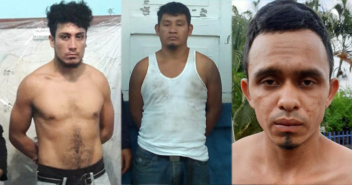 Tres detenidos por Homicidio, portación de arma y tráfico de drogas