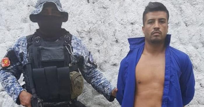 Capturado por extorsión en San Juan Opico, La Libertad