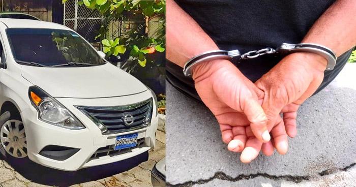 Capturado tras robar una motocicleta en San Salvador
