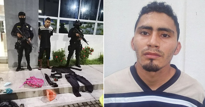 Capturado cuando transportaba uniforme policial y una escopeta