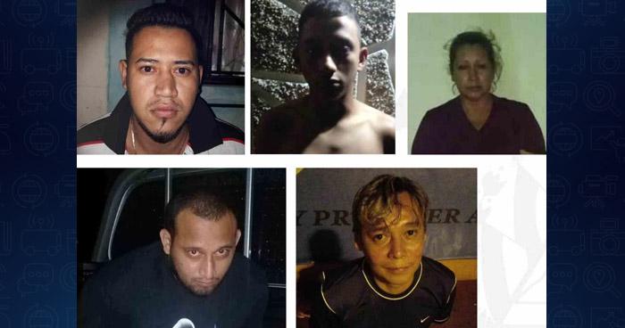 Capturan a 16 personas que vivían de extorsiones que cobraban en San Salvador y La Libertad