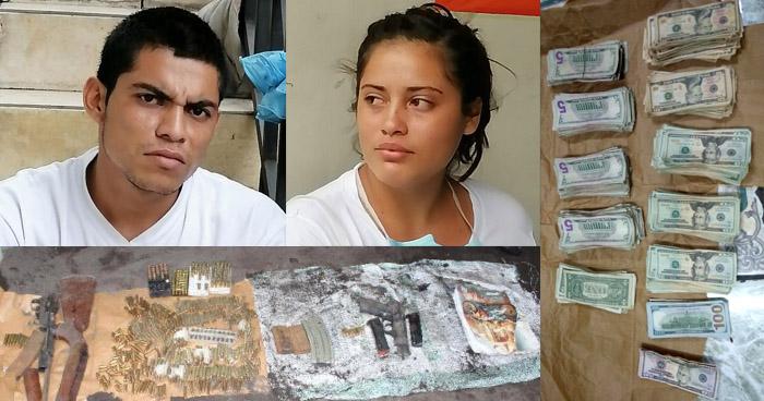 Capturan a pareja de pandilleros que delinquían en La Libertad
