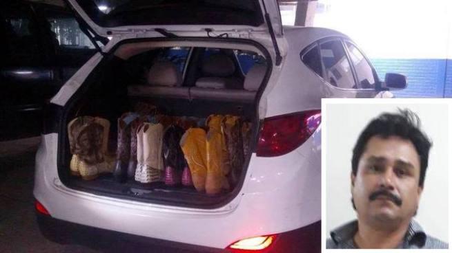 Detienen a hombre que intento ingresar al país mercadería de contrabando
